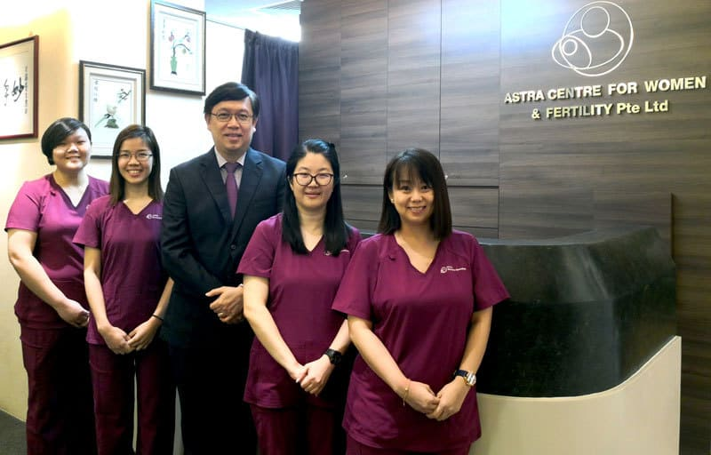 Dr Fong Yang and Clinic Staff